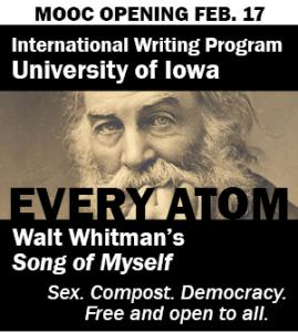 [Click to Enlarge] Every Atom is the first Massive Open Online Course to be offered by the University of Iowa.