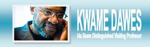 Poet Kwame Dawes will receive the 2013 Paul Engle Prize during his visit to the University of Iowa.