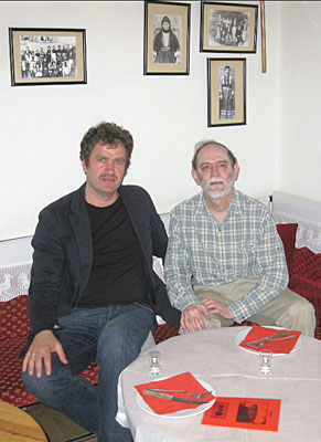 Tim Shipe and Gentian Çoçoli