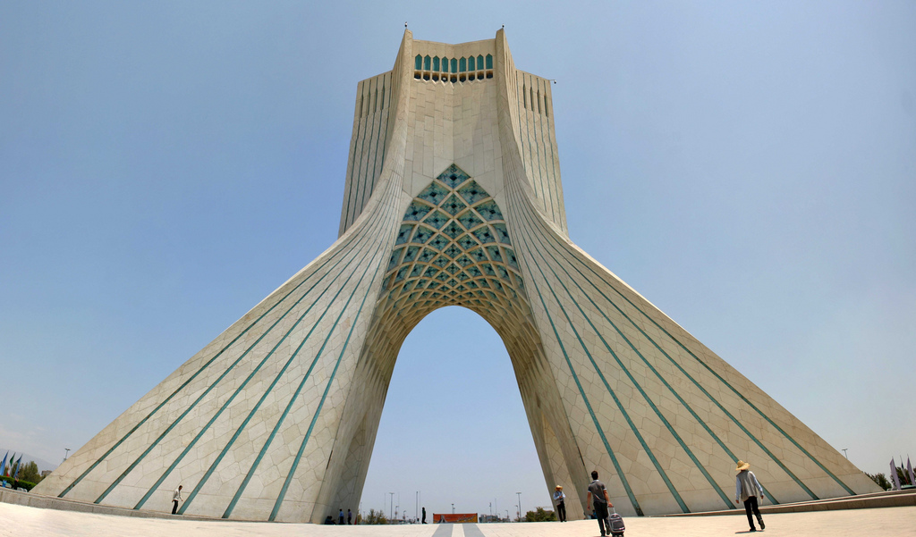 Azadi Tower Silk Routes