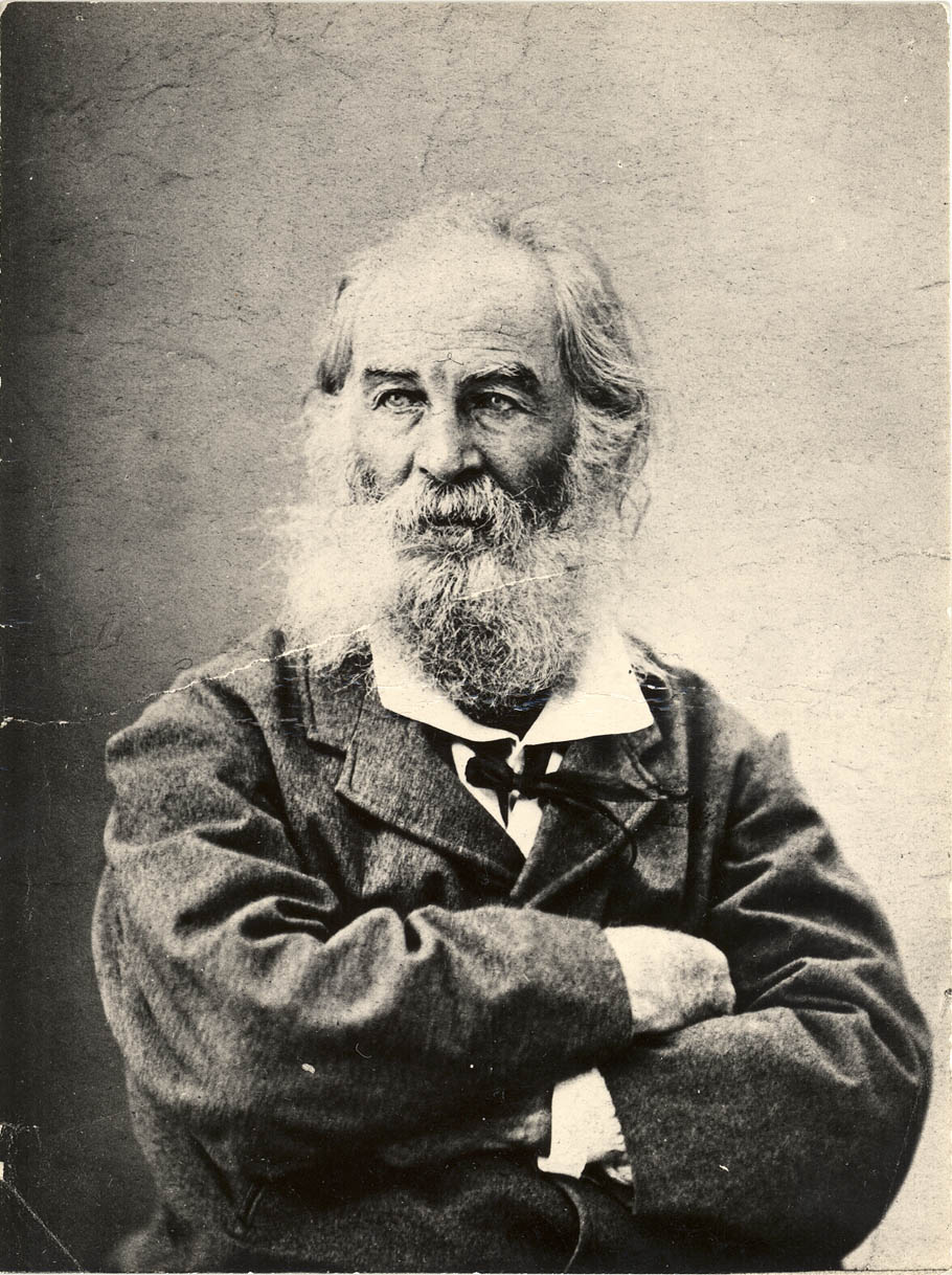 Whitman, early 1870s, photographer unknown.
