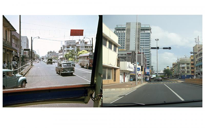 ColpettyJunction 1970s & 2014