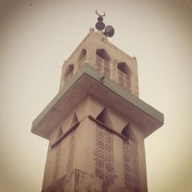 Looking Up in Old Jeddah