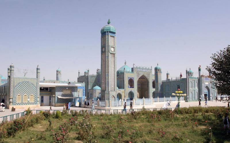 Shrine of Hazrat Ali in Mazar-e-Sharif, Afghanistan