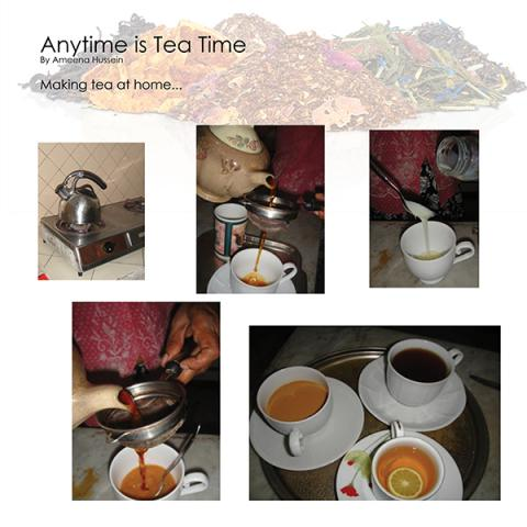 Making Tea at Home