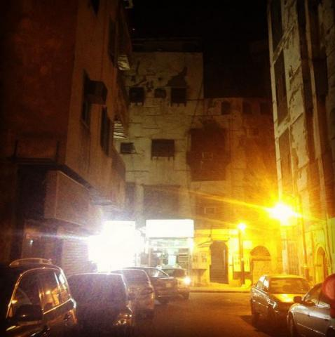 Old Jeddah at Night