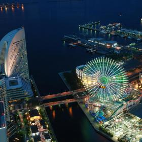 Yokohama at Night
