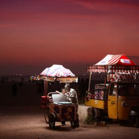 Uncle John Ice Cream at Alleppey beach, Kerala