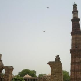 Qutub Minar and ruins of the Qutub Complex