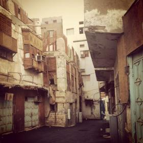 Old Jeddah Streetscape