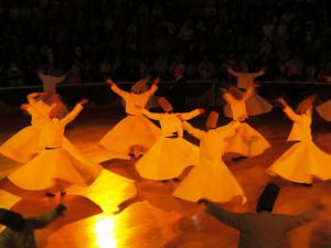 Sema ceremony of the Whirling Dervishes