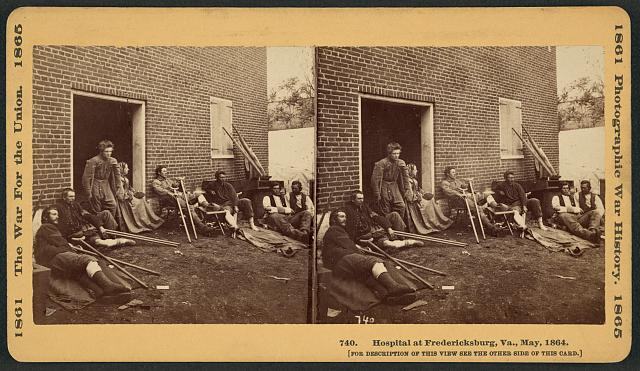 Hospital at Fredericksburg, VA (1864)