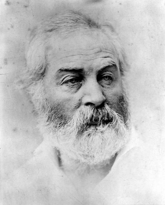 Photo A. Gardner, 1863.  According to Whitman,