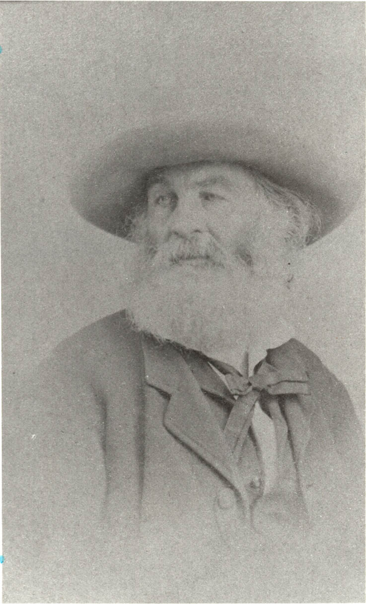 Whitman with a ribbon bow