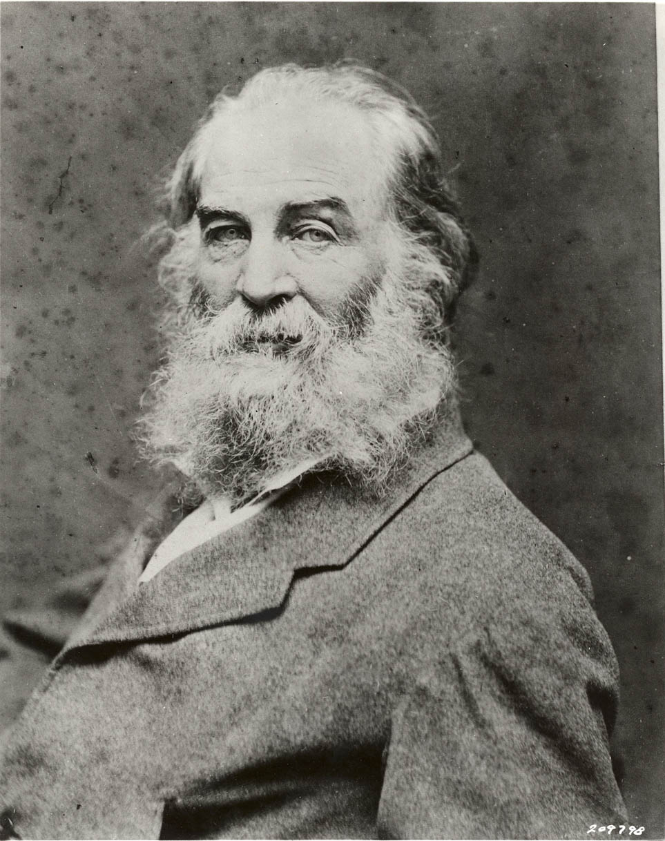 Whitman, photographed by George Potter (early 1870s).