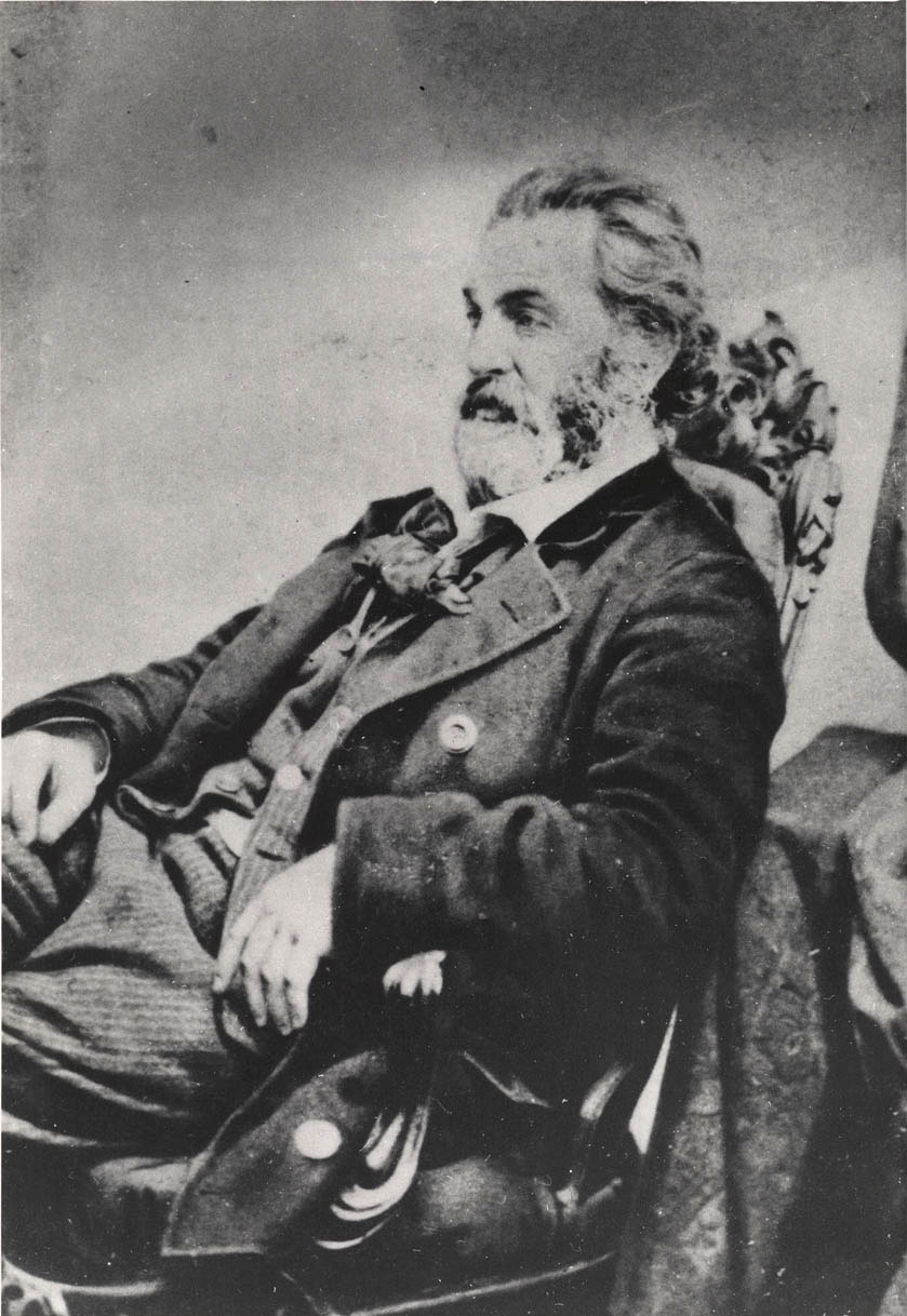Photograph of Whitman by J. W. Black of Black and Batchelder, Boston