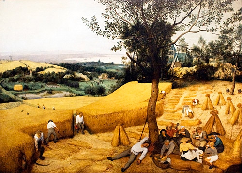 Pieter Bruegel the Elder- The Corn Harvest