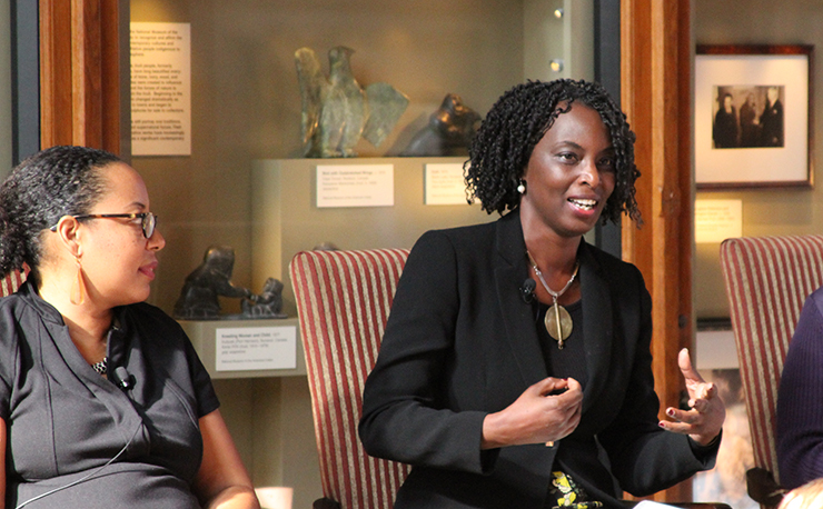 Yvonne Owuor Speaks at the Smithsonian Institution in Washington, D.C.
