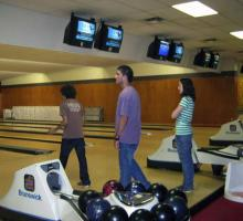 For several BTL students, this was their first time in a bowling alley.