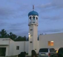 Other views of Iowa: Participants were invited to dinner at the Islamic Center of Cedar Rapids.