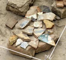 17-A close up of pottery found at the dig site in ancient Merv.jpg