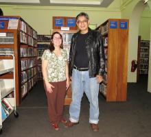 20-Meeting up with IWP Alum Khin Maung Nyo at the American Center library..jpg