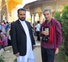 Participants Mohammad Hassan of Afghanistan and Mohsen Emadi of Iran who currently lives in Mexico.jpg