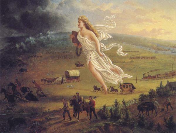 John Gast, American Progress (painting, 1872).