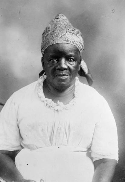 Female laborer (Courtesy Georgia Archives)
