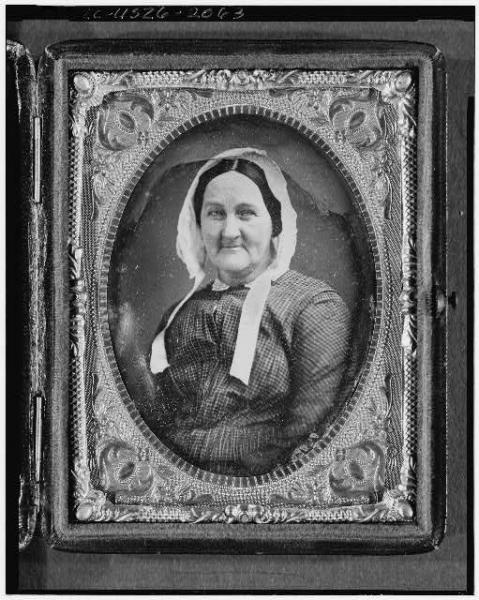 Whitman's mother, Louisa Van Velsor Whitman; courtesy Library of Congress.